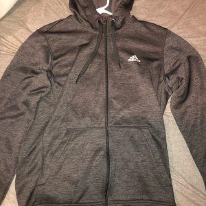 Adidas full zip hoodie.